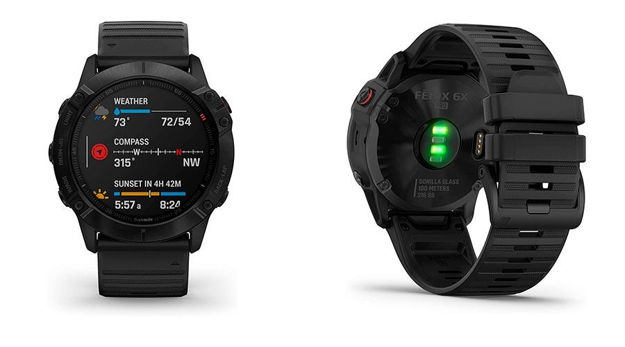 Reloj deportivo inteligente Garmin Fenix 6x PRO