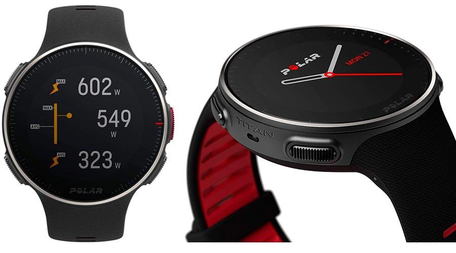 Reloj deportivo inteligente Polar Vantage V Titan