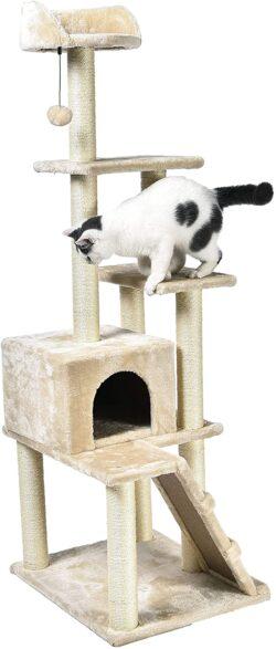 Árbol rascador para gatos de AmazonBasics