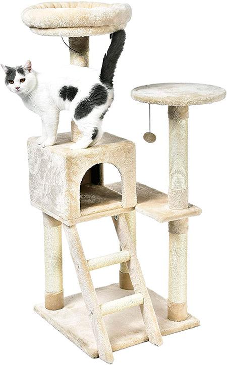 Arbol Rascador para gatos de Amazon