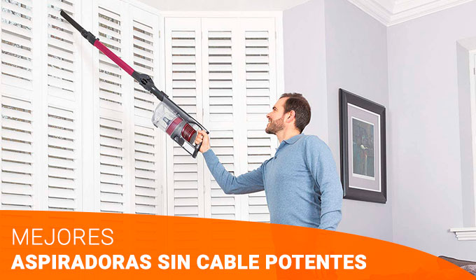 TOP 5 Aspiradoras sin cable potentes [2020]