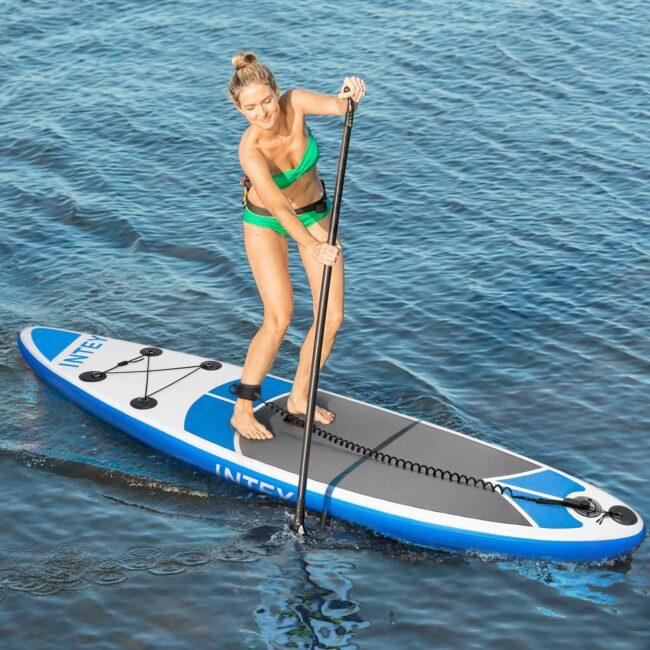 Tabla de Paddle Surf - Intey - remando